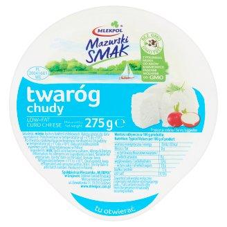 Mlekpol Mazurski Smak Low-Fat Curd Cheese 275 g