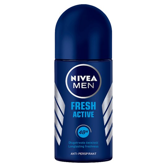 NIVEA MEN Fresh Active Antyperspirant w kulce 50 ml