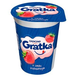 Danone Gratka Strawberry Flavour Dessert 290 g