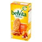 belVita Breakfast Ciastka zbożowe z miodem orzechami i kawałkami czekolady 300 g (6 x 50 g)