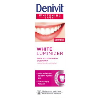 Denivit White Luminizer Toothpaste for Daily Use 50 ml
