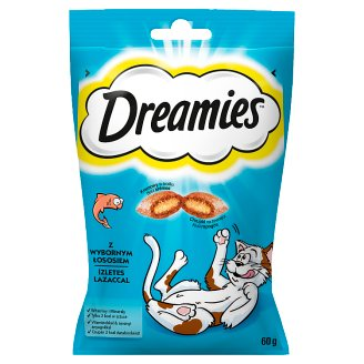 Dreamies Supplementary Food with Delicious Salmon 60 g
