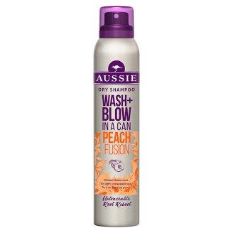 Aussie Wash + Blow Peach Fusion Suchy szampon 180ml