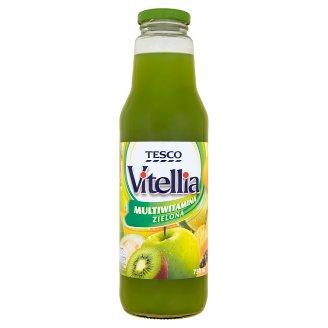Tesco Vitellia Green Multivitamin Multifruit Drink 750 ml