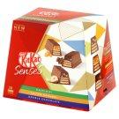 KitKat Senses Kolekcja kruchych paluszków waflowych z nadzieniem 200 g