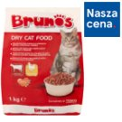 Brunos Granules with Beef and Poultry Food for Adult Cats 1 kg