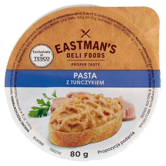Eastman's Deli Foods Paste with Tuna 80 g