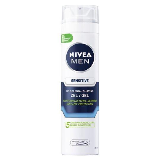NIVEA MEN Sensitive Shaving Gel 200 ml