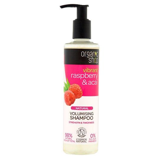 Organic Shop Szampon nadający objętość malina & acai 280 ml