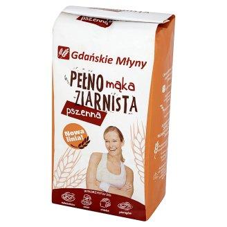 Gdańskie Młyny Mąka pełnoziarnista pszenna 1 kg