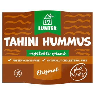 LUNTER Tahini Hummus Plant Paste 115 g