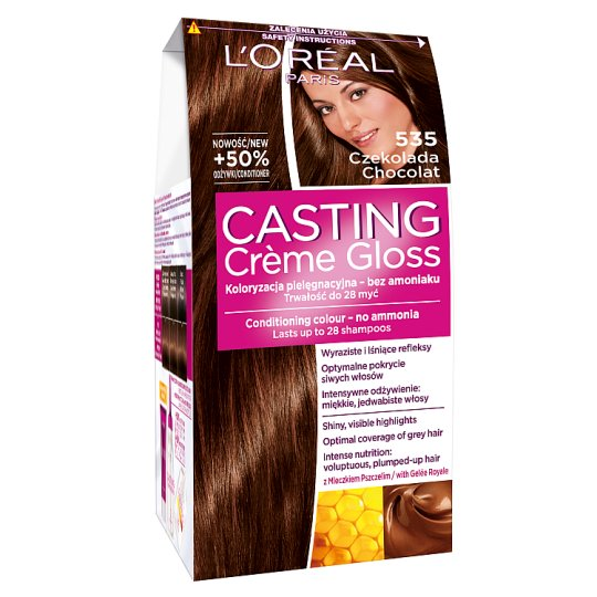 L'Oreal Paris Casting Creme Gloss Chocolat 535 Coloring Cream