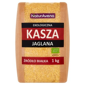 NaturAvena Organic Millet Groats 1 kg