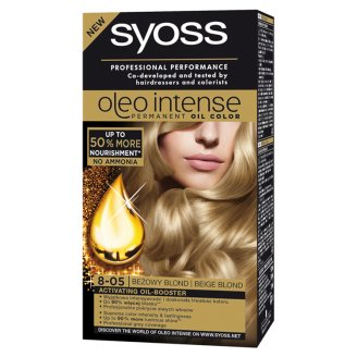 Syoss Oleo Intense Hair Colorant Beige Blond 8-05