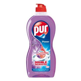 Pur Power Lavender & White Vinegar Płyn do mycia naczyń 450 ml
