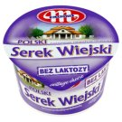Mlekovita Wiejski Polish Lactose Free Granular Curd Cheese with Cream 180 g