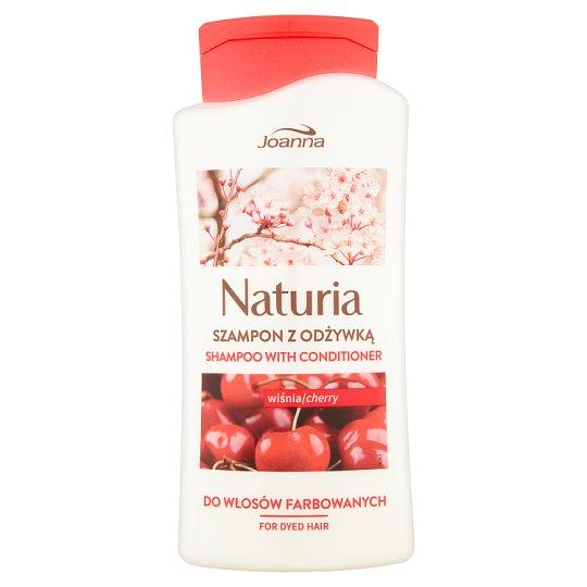 Joanna Naturia Szampon z odżywką wiśnia 500 ml