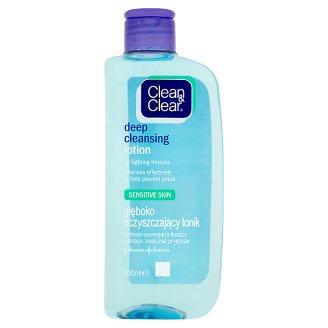 Clean & Clear Głęboko oczyszczający tonik 200 ml
