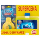 Finish 5x Power Actions Dishwasher Freshener 4 ml and Lemon Dishwasher Cleaner 250 ml