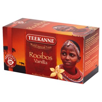 Teekanne World Special Teas Rooibos Vanilla Flavoured Tea 35 g (20 Tea Bags)