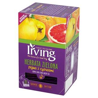 Irving Quince and Citrus Green Tea 30 g (20 Tea Bags)