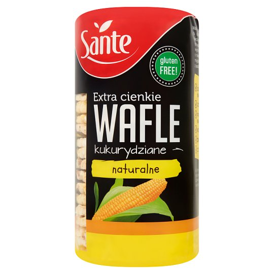 Sante Natural Extra Thin Corn Wafers 120 g