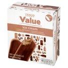 Tesco Value Lody o smaku czekoladowym 960 ml (16 sztuk)