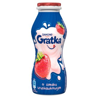 Danone Gratka Strawberry Flavour Milk Drink 170 g