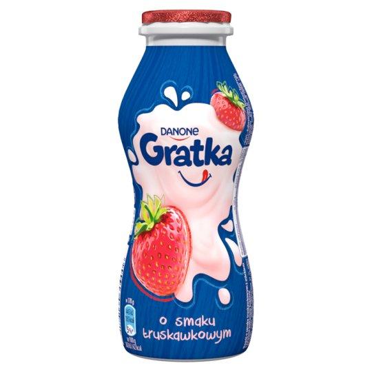 Danone Gratka Strawberry Flavour Milk Drink 170 g