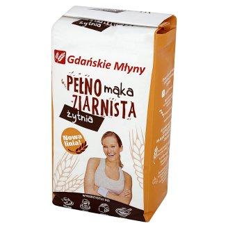 Gdańskie Młyny Mąka pełnoziarnista żytnia 1 kg