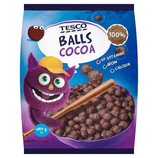 Tesco Zbożowe kuleczki kakaowe 450 g