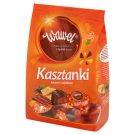 Wawel Kasztanki kakaowe z wafelkami Czekoladki nadziewane 330 g