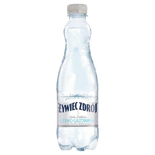 Żywiec Zdrój Woda źródlana lekki gaz 500 ml