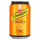 Schweppes Orange Napój gazowany o smaku pomarańczowym 330 ml