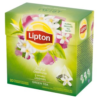 Lipton Joyful Jasmine Flavoured Green Tea 34 g (20 Tea Bags)