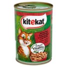 Kitekat Complete Food for Adult Cats with Beef in Sauce 400 g