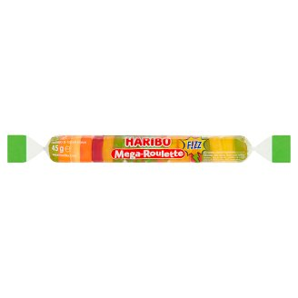 Haribo Mega-Roulette Żelki owocowe 45 g