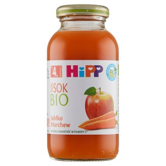 HiPP BIO Apple-Carrot 100% Bio Juice after 4. Months Onwards 0.2 L