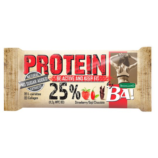 Bakalland Ba! Protein Be Active and Keep Fit Bar 45 g