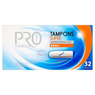 Tesco Pro Formula Tampony Super 32 sztuki