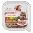 Tesco Pet Specialist Pate with Duck Chicken and Vegetables Food for Adult Cats 100 g