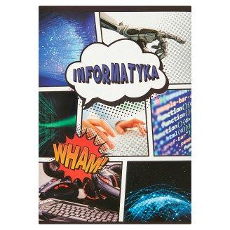 Zeszyt Informatyka A5 kratka 60 kartek