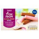 Tesco Free From Bezmleczny mrożony deser o smaku czekoladowym i truskawkowy 280 ml (8 x 35 ml)