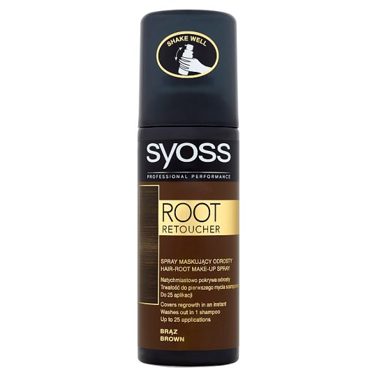 Syoss Root Retoucher Brown Hair-Root Make-Up Spray 120 ml