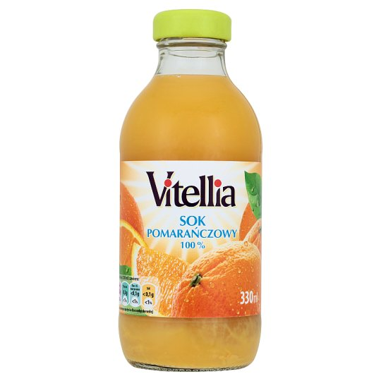 Vitellia 100% Orange Juice 330 ml