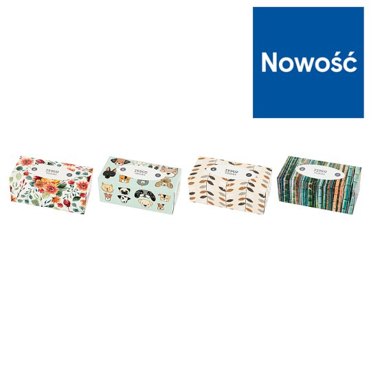 Tesco 2 Ply Universal Tissues 200 Pieces