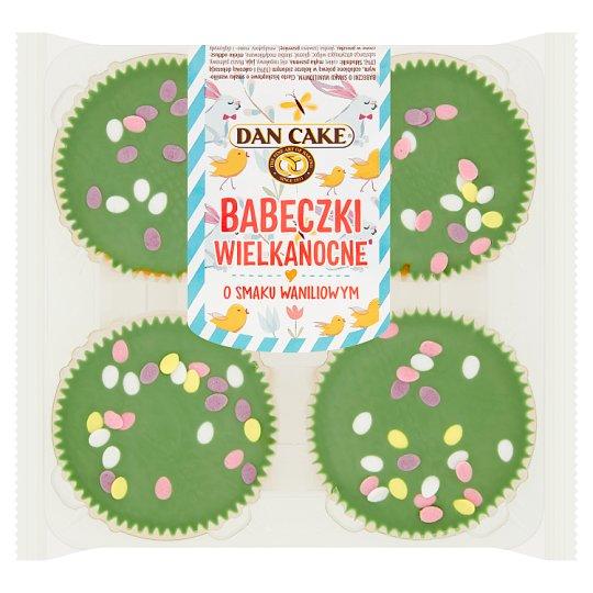 Dan Cake Vanilla Flavoured Easter Cakes 240 g (4 x 60 g)