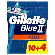 Gillette BlueII Plus Men's Disposable Razors x14