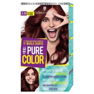 Schwarzkopf #Pure Color Hair Colorant Pink Brownie 6.80