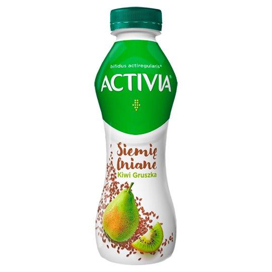 Danone Activia Jogurt siemię lniane gruszka-kiwi 280 g